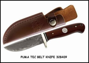 Puma Tec Belt Knife now at RM 350.00 only!